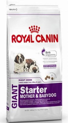royal canin giant starter mother babydog 15 kg produkty zookrak. Black Bedroom Furniture Sets. Home Design Ideas