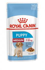 Royal Canin Medium Puppy 140 g x 10 saszetek